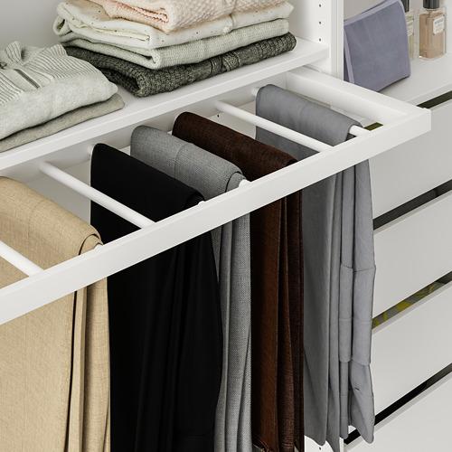 KOMPLEMENT - 拉出式褲架, 白色 | IKEA 香港及澳門 - PE766925_S4