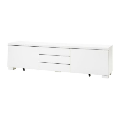 BESTÅ BURS - TV bench, high-gloss white | IKEA Hong Kong and Macau - PE175906_S4