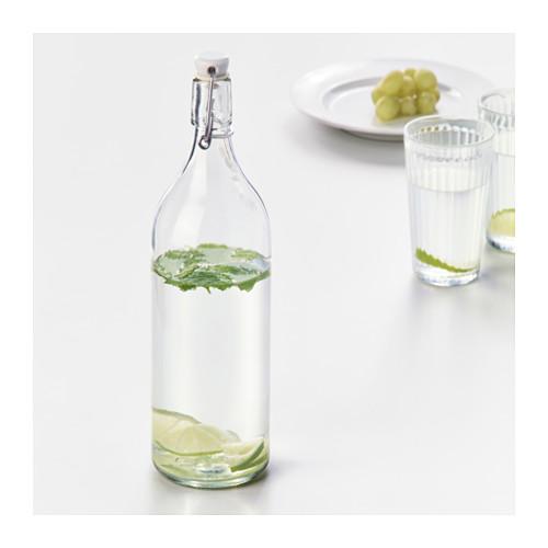 KORKEN - bottle with stopper, clear glass | IKEA Hong Kong and Macau - PE629216_S4