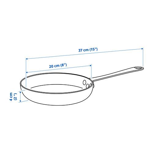 VARDAGEN - 平底煎鍋, 碳鋼 | IKEA 香港及澳門 - PE822739_S4