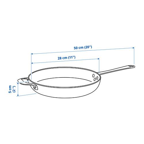 VARDAGEN - 平底煎鍋, 碳鋼 | IKEA 香港及澳門 - PE822741_S4