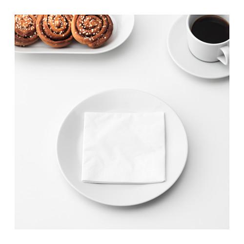FANTASTISK - 餐紙巾, 白色 | IKEA 香港及澳門 - PE629302_S4