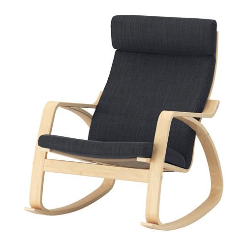 POÄNG - 搖椅, 樺木飾面/Hillared 炭黑色   IKEA 香港及澳門 - PE629316_S4