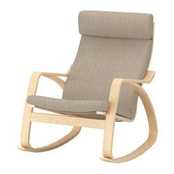 POÄNG - rocking-chair, birch veneer/Hillared beige | IKEA Hong Kong and Macau - PE629319_S3
