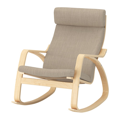 POÄNG - rocking-chair, birch veneer/Hillared beige | IKEA Hong Kong and Macau - PE629319_S4