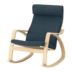POÄNG - 搖椅, 樺木飾面/Hillared 深藍色 | IKEA 香港及澳門 - PE629322_S3