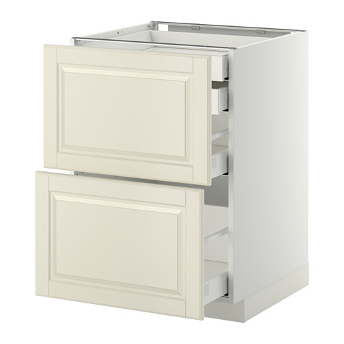 METOD - base cb 2 frnts/2 low/1 md/1 hi drw, white Maximera/Bodbyn off-white | IKEA Hong Kong and Macau - PE350875_S4
