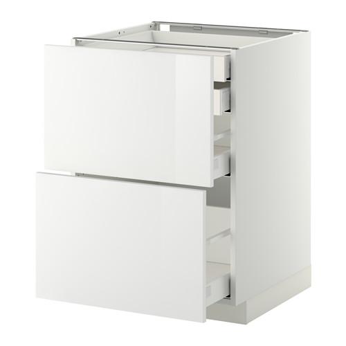 METOD - base cb 2 frnts/2 low/1 md/1 hi drw, white Maximera/Ringhult white | IKEA Hong Kong and Macau - PE350888_S4