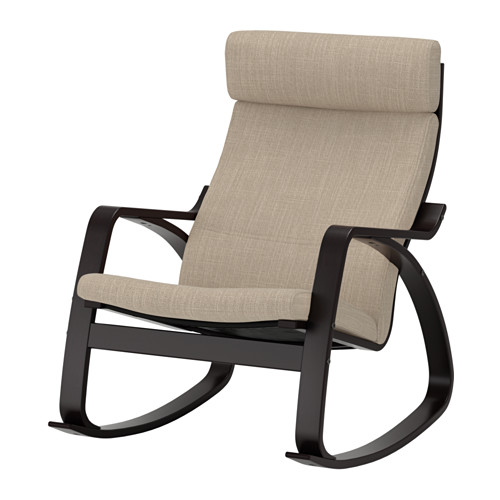 POÄNG - 搖椅, 棕黑色/Hillared 米黃色 | IKEA 香港及澳門 - PE629325_S4
