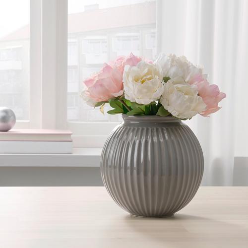 VANLIGEN - vase, grey | IKEA Hong Kong and Macau - PE767277_S4