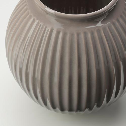VANLIGEN - vase, grey | IKEA Hong Kong and Macau - PE767278_S4