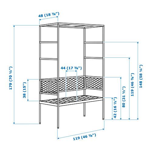 SVANÖ - arbor bench, grey | IKEA Hong Kong and Macau - PE767097_S4