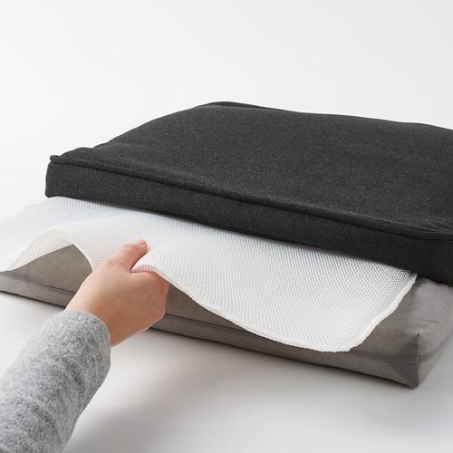 JÄRPÖN/DUVHOLMEN - 椅墊,戶外用, 炭黑色 | IKEA 香港及澳門 - PE782476_S4