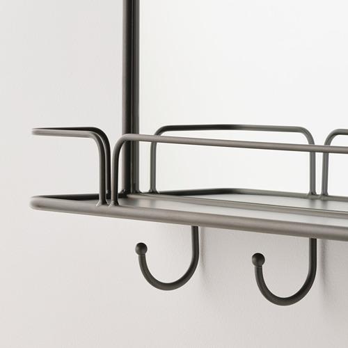 SYNNERBY - 鏡子連層板及掛鈎, 灰色   IKEA 香港及澳門 - PE784736_S4