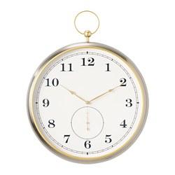 KUTTERSMYCKE - 掛牆鐘, 銀色 | IKEA 香港及澳門 - PE784718_S3