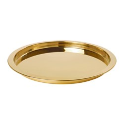 GLATTIS - tray, brass-colour | IKEA Hong Kong and Macau - PE629564_S3
