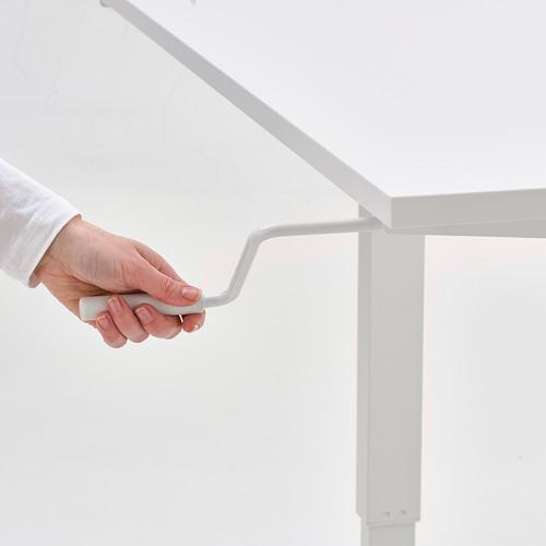 SKARSTA - 升降式書檯, 120x70, 白色 | IKEA 香港及澳門 - PE767232_S4