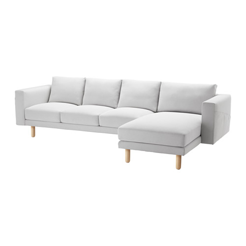 NORSBORG - cover for 4-seat sofa, with chaise longue/Finnsta white | IKEA Hong Kong and Macau - PE564977_S4
