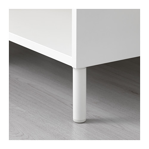 LÄTTHET - leg, white/metal | IKEA Hong Kong and Macau - PE629655_S4