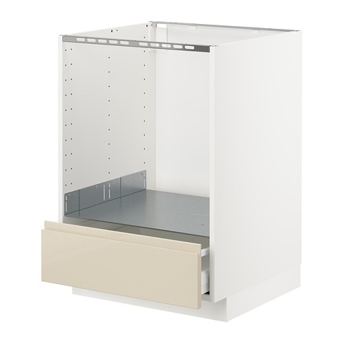 METOD base cabinet for oven with drawer