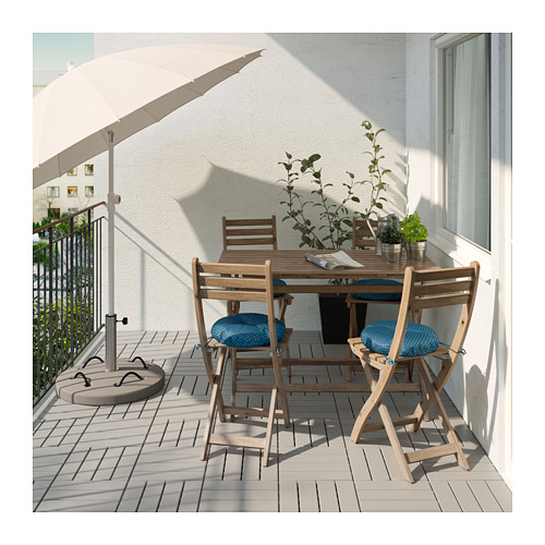 ASKHOLMEN table+4 chairs, outdoor