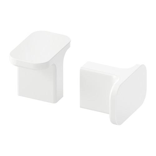 HACKÅS - 把手, 白色   IKEA 香港及澳門 - PE677804_S4