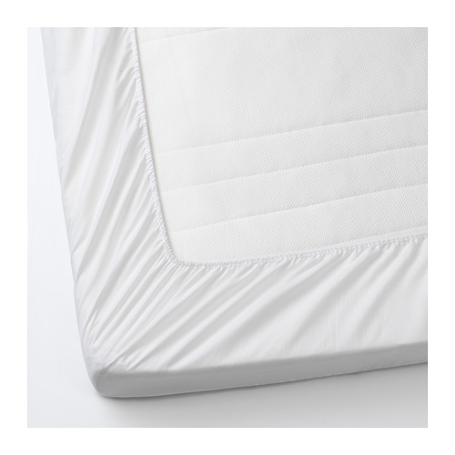 LENAST - 床褥保護套, 白色 | IKEA 香港及澳門 - PE677808_S4