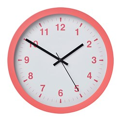 TJALLA - wall clock, pink | IKEA Hong Kong and Macau - PE767385_S3