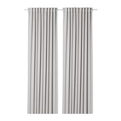 MAJGULL - 半遮光窗簾,一對, 淺灰色 | IKEA 香港及澳門 - PE677879_S3