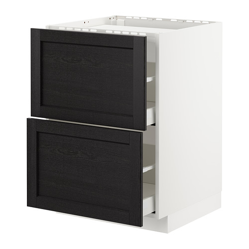 METOD/MAXIMERA base cab f hob/2 fronts/2 drawers