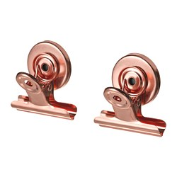 TOTEBO - binder clip with magnet, pink/gold-colour   IKEA Hong Kong and Macau - PE767583_S3