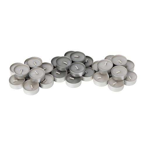 SINNLIG - 香味小蠟燭, 肉豆蔻及雲呢嗱/灰色 | IKEA 香港及澳門 - PE630184_S4