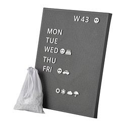 SVENSÅS - 洞洞板附字母, 深灰色 | IKEA 香港及澳門 - PE767595_S3