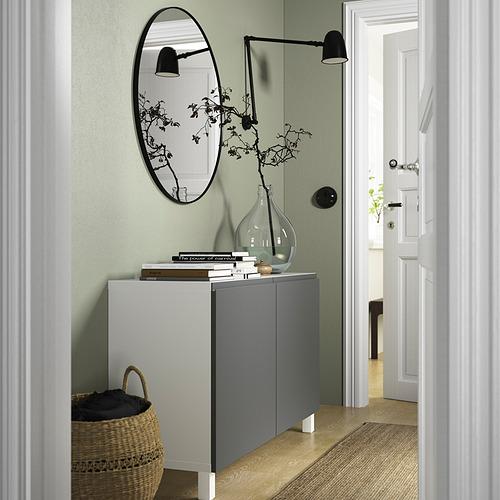 BESTÅ - 貯物組合連門, white/Västerviken/Stubbarp dark grey | IKEA 香港及澳門 - PE823261_S4