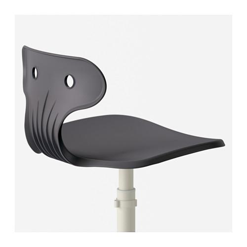 MOLTE - 工作椅, 灰色 | IKEA 香港及澳門 - PE563496_S4