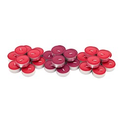 SINNLIG - scented tealight, Red garden berries/red | IKEA Hong Kong and Macau - PE630322_S3