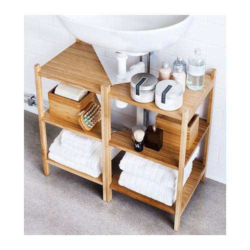 RÅGRUND - 洗手盆/角位層板, 竹   IKEA 香港及澳門 - PE356682_S4