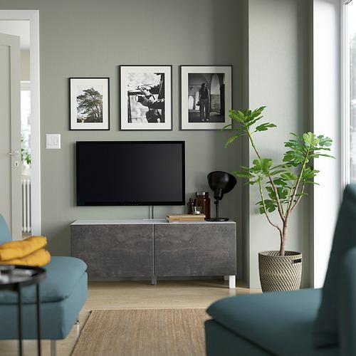BESTÅ - 電視几連門, 白色 Kallviken/Stubbarp/深灰色 | IKEA 香港及澳門 - PE823676_S4