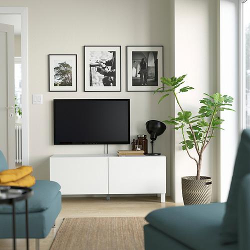 BESTÅ - 電視几連門, 白色 Laxviken/Stubbarp/白色 | IKEA 香港及澳門 - PE823646_S4