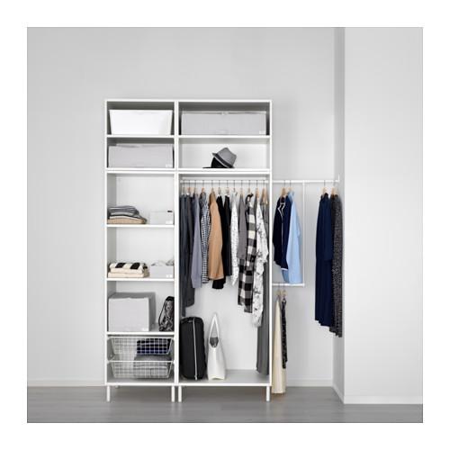 PLATSA - wardrobe, white/Fonnes white | IKEA Hong Kong and Macau - PE630617_S4