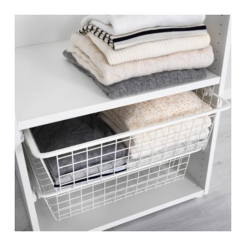 PLATSA - wardrobe, white/Fonnes white | IKEA Hong Kong and Macau - PE630616_S4
