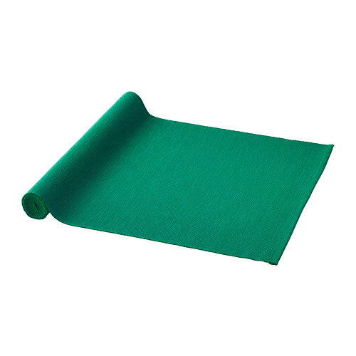 UTBYTT - 裝飾用檯布, 深綠色   IKEA 香港及澳門 - PE767653_S4