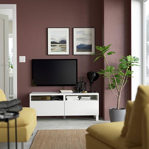 BESTÅ - 電視几連抽屜, white/Lappviken/Stubbarp white   IKEA 香港及澳門 - PE823748_S4
