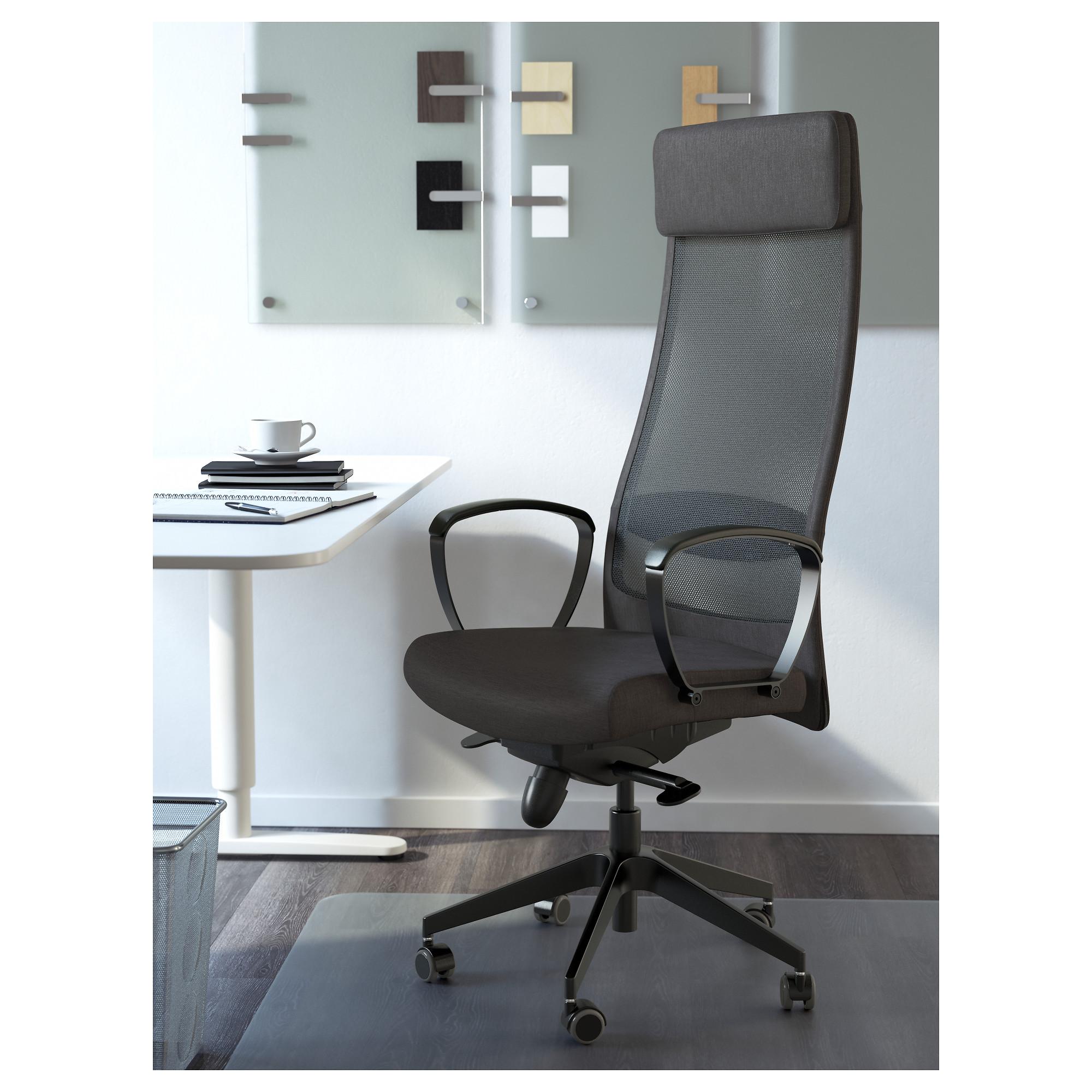 Markus Office Chair Vissle Dark Grey Ikea Hong Kong
