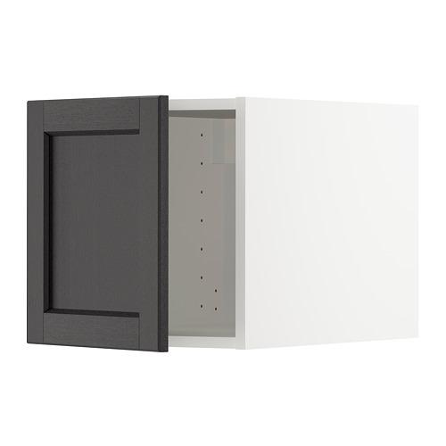 METOD - 頂櫃, 白色/Lerhyttan 染黑色   IKEA 香港及澳門 - PE678262_S4