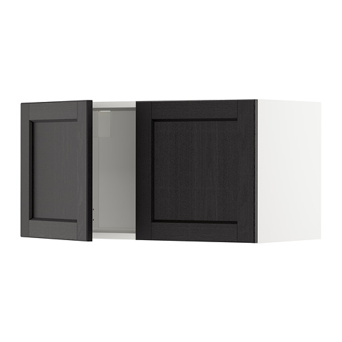 METOD wall cabinet with 2 doors