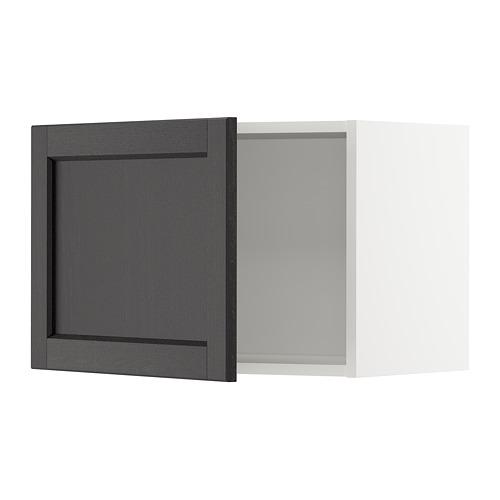 METOD - wall cabinet, white/Lerhyttan black stained   IKEA Hong Kong and Macau - PE678272_S4