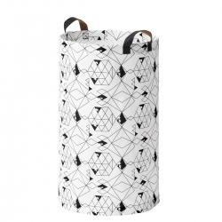 PLUMSA - 洗衣袋, 白色/黑色 | IKEA 香港及澳門 - 40453136_S3