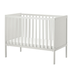 SUNDVIK - 嬰兒床架, 白色 | IKEA 香港及澳門 - 20372155_S3