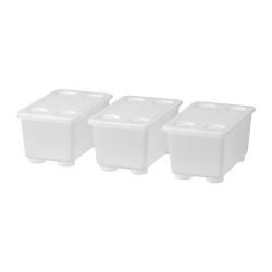 GLIS - box with lid, transparent | IKEA Hong Kong and Macau - 60466147_S3